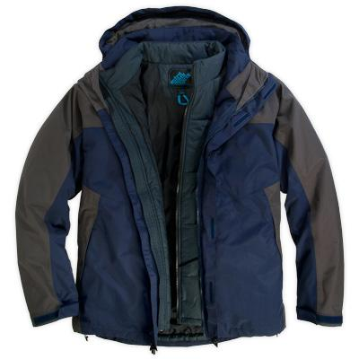 Eastern Mountain Sports Mens Stratus 3-1 Jacket
