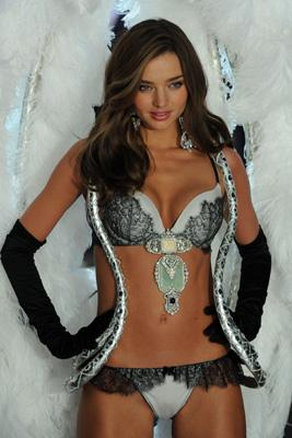 Miranda Kerr at Victoria Secret Fashion Show