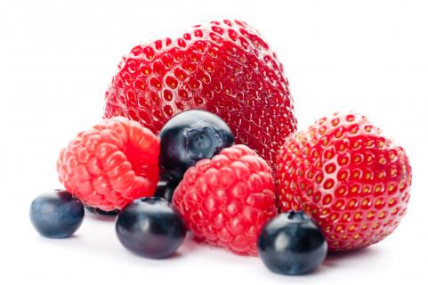 Mixed berries are a staple of the Nordic Diet