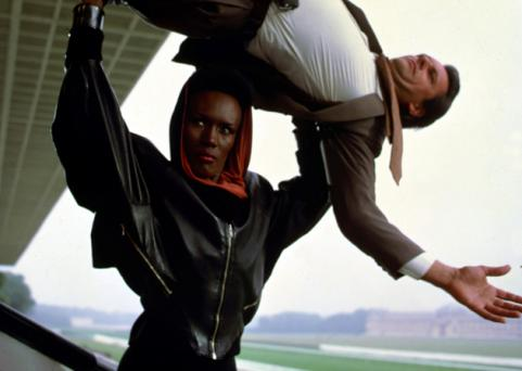 Grace Jones in A View To Kill
