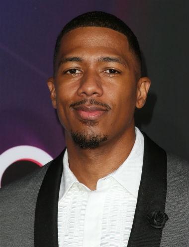 Nick Cannon facial hair