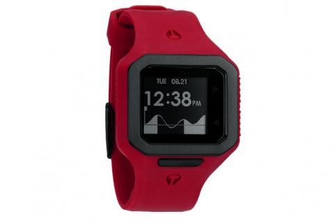Red Nixon Supertide Watch
