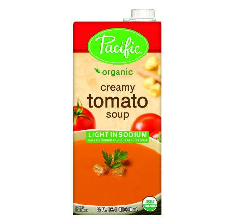 Pacific Foods Organic Light-Sodium Creamy Tomato Soup