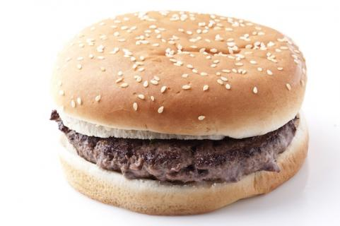 Plain hamburger
