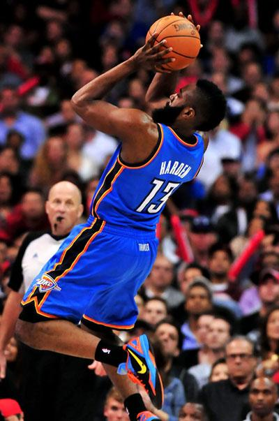 James Harden, Oklahoma City Thunder