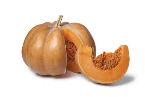 pumpkin with pumpkin slice
