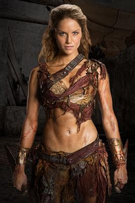Ellen Hollman in Spartacus War of the Damned