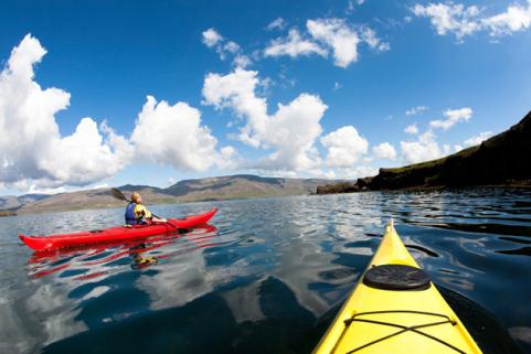 Sea Kayak through the Fjords