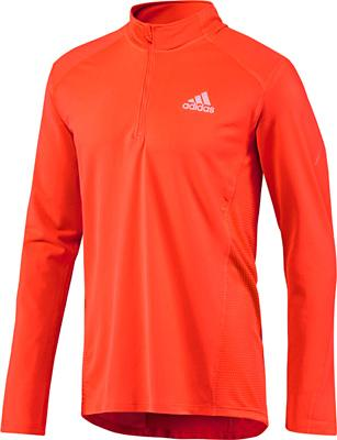 Adidas Sequencials Half-Zip Long Sleeve Tee