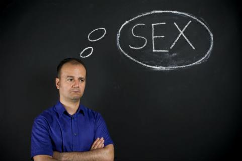 man with sex on the brain