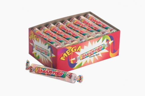 box of smarties candies