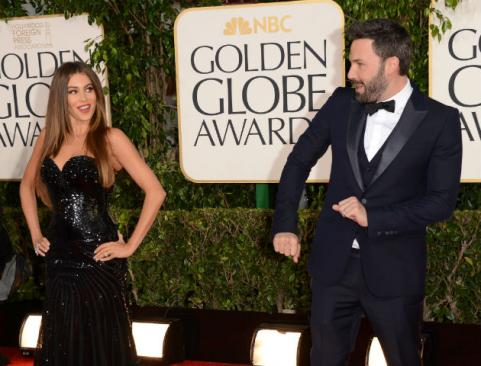 sofia vergara and ben affleck golden globes 2013