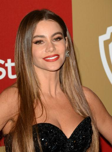 sofia vergara golden globes 2013