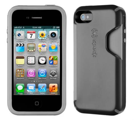 Speck CandyShell Card for iPhone 4S/4