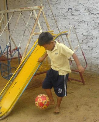Coaching Sports in Bolivia