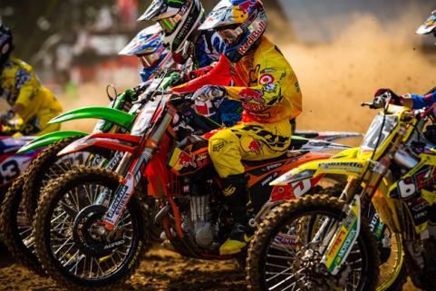 Ryan Dungey starting a race
