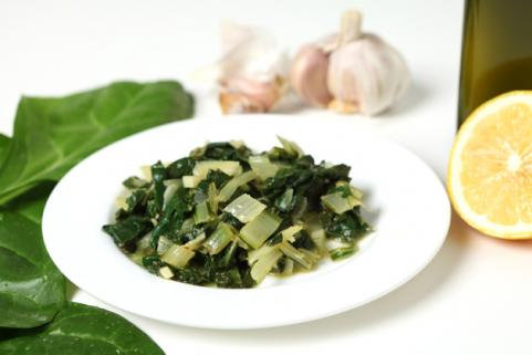 sauteed swiss chard side dish