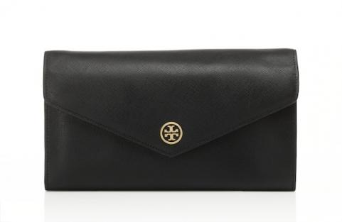 Robinson Expandable Concierge Wallet in Black