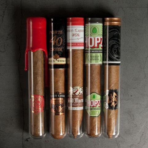 Ted's Cigar Sample Five-Pack