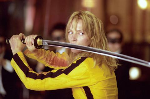 Uma Thurman as Beatrix Kiddo in Kill Bill 2