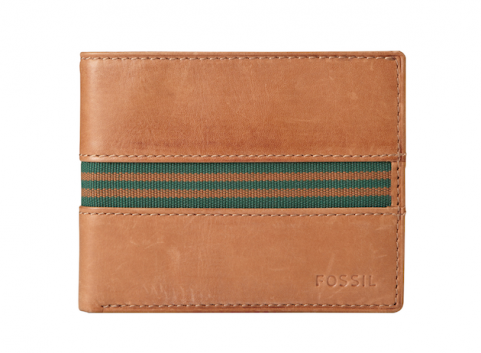 Leather tan wallet