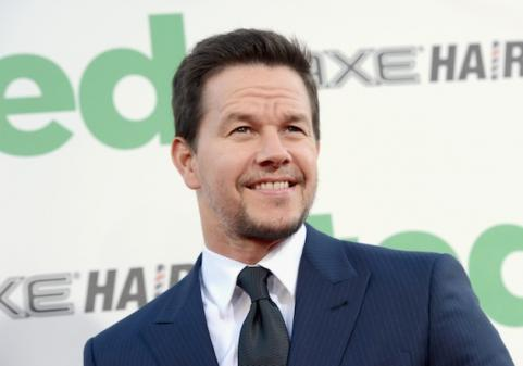 Mark Wahlberg smiling