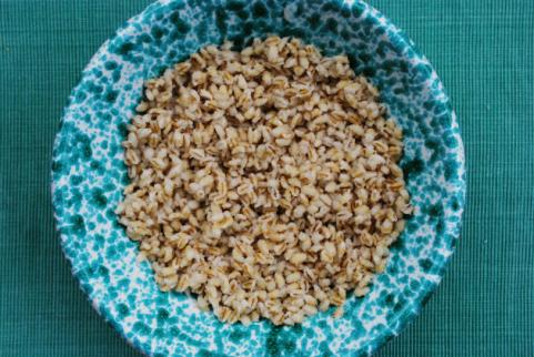 bowl of whole barley