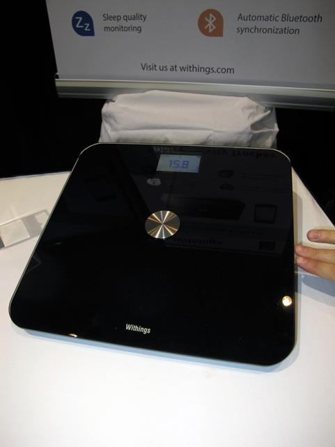 Withings Smart Body Analyzer at CES 2013