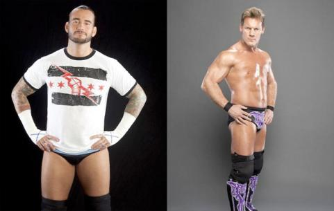 WWE champion CM Punk vs. Chris Jericho