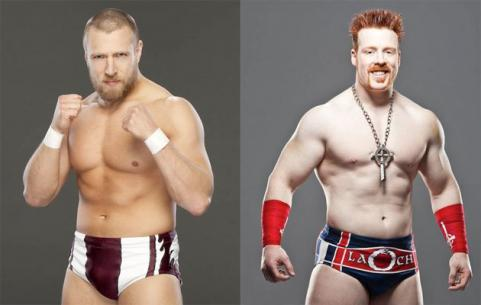 World champion Daniel Bryan vs. Sheamus