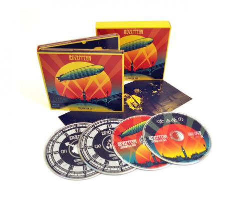 Led Zeppelin Celebration Day Digipack