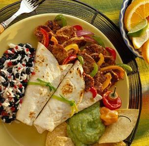 Quick Pork Fajitas