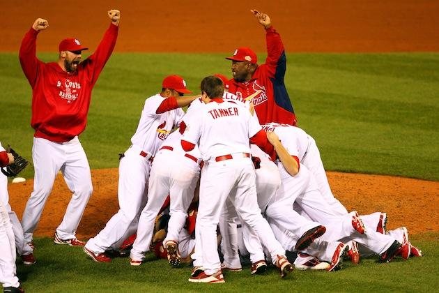 Cardinals world series win 2011