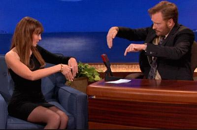 Video: Roberta Mancino on Conan
