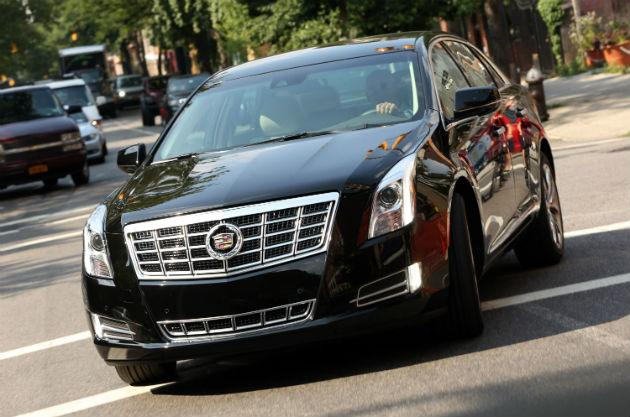 2013 cadillac xts in black