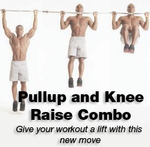 Pullup & Knee Raise