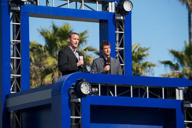 G4's American Ninja Warrior - Matt Iseman and Jonny Moseley