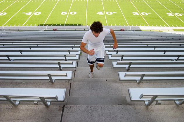 Anywhere Workout: Bleacher Training