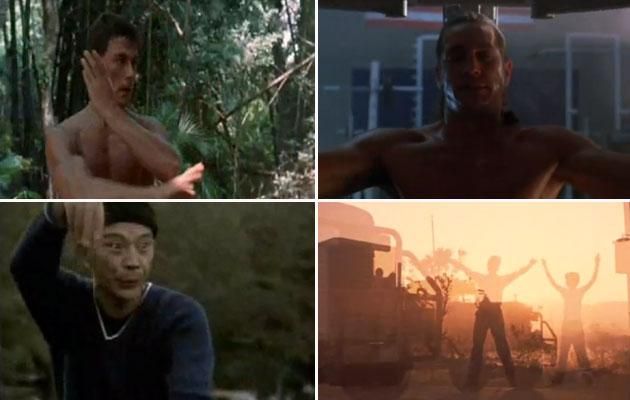 The 11 Cheesiest Movie Workout Montages