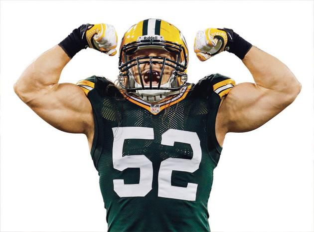 Clay Matthews Green Bay Packers linebacker