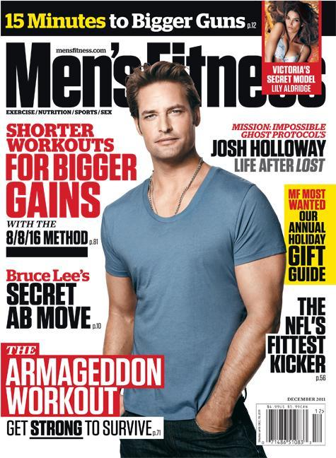 Crossbows and Armageddon Training in the December Men's Fitness