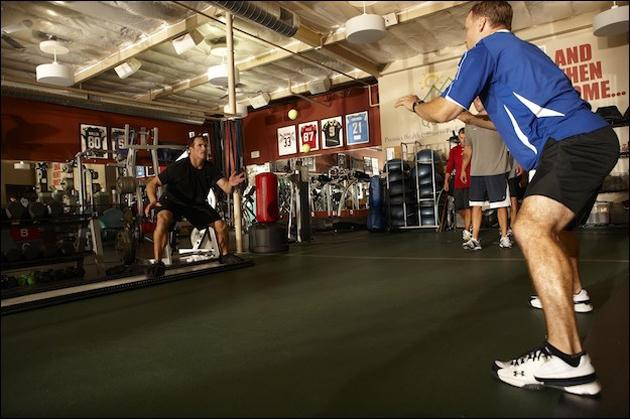 Drew Brees and Todd Durkin Personal Training