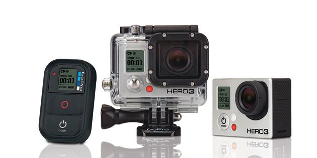 Go Pro Hero 3 camera