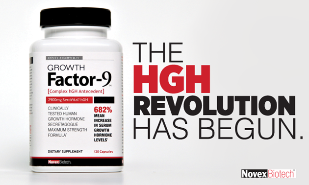 HGH Supplement Growth Factor 9