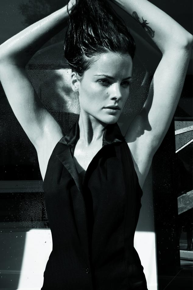 Jaimie Alexander Black and White