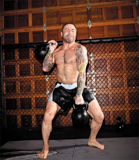 UFC Host Joe Rogan Trains Like a Fighter
