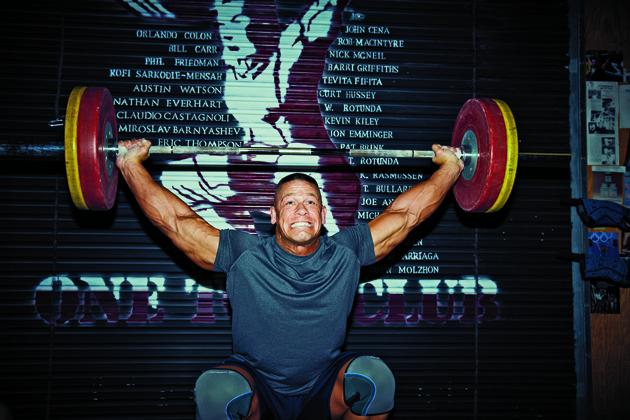 John Cena snatch lifting