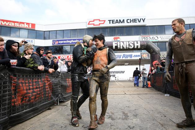 World's Toughest Mudder Junyong Pak