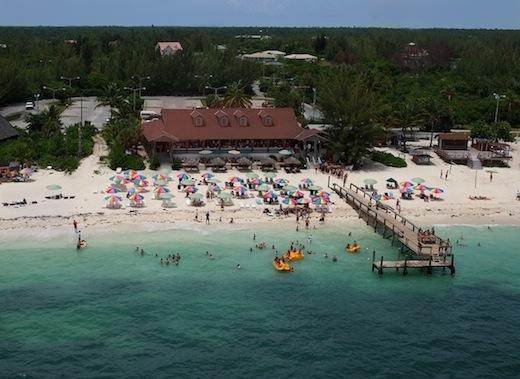 Junkanoo beach on Grand Bahama Island