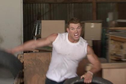 VIDEO: Kellan Lutz's Photo Shoot Is Seriously Hardcore